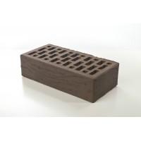 Кирпич керамический «Коричневый» 1НФ рифленый